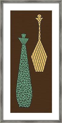 Mosaics 3 Framed Print
