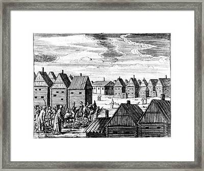 Moscow, 17th Century Framed Print