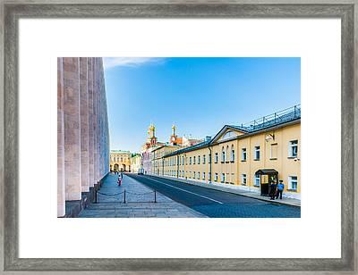 Moscow Kremlin Tour - 09 Of 70 Framed Print by Alexander Senin