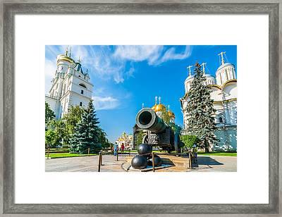 Moscow Kremlin Tour - 23 Of 70 Framed Print by Alexander Senin
