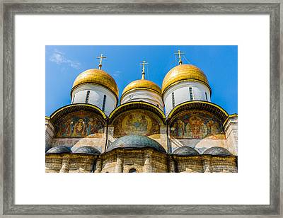 Moscow Kremlin Tour - 38 Of 70 Framed Print by Alexander Senin