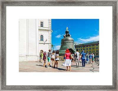 Moscow Kremlin Tour - 50 Of 70 Framed Print by Alexander Senin