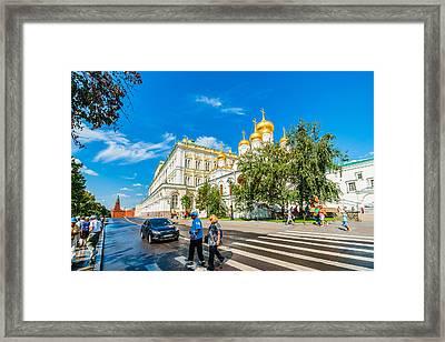 Moscow Kremlin Tour - 52 Of 70 Framed Print by Alexander Senin