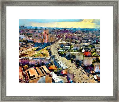 Moscow Scape 2 Framed Print by Yury Malkov