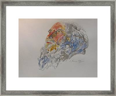 Moses Framed Print by Esther Newman-Cohen