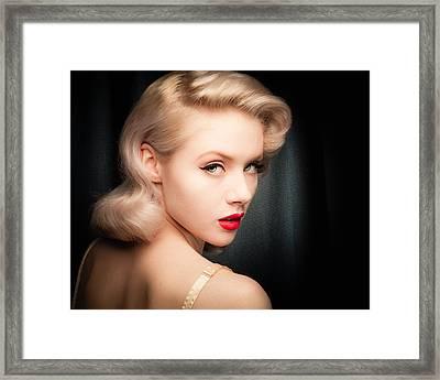Mosh Portrait  Framed Print by Gary Heller