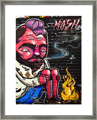 Mosh Wall Art Framed Print