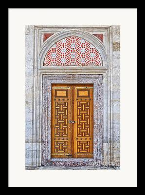 Religious Structure Framed Prints
