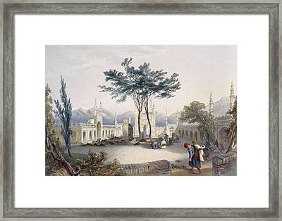 Mosque Of Goolaum Hoossein Huzrut-jee Framed Print by James Rattray