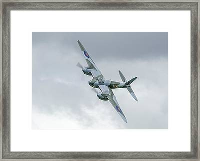 Mosquito At Ardmore Framed Print by Barry Culling