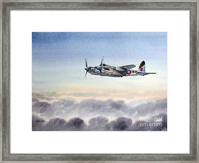 Mosquito Aircraft Framed Print by Bill Holkham