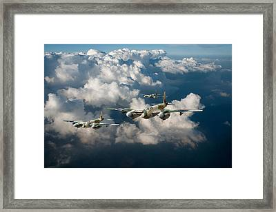 Mosquitos Above Clouds Framed Print by Gary Eason