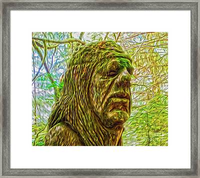 Moss Man - 02 Framed Print by Gregory Dyer