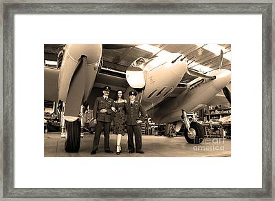 Mossie Framed Print by Gee Lyon