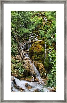 Mossy Falls Framed Print