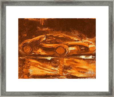 Most Expensive Fastest Car Bugatti Veyron Super Sport 2 Framed Print by Richard W Linford