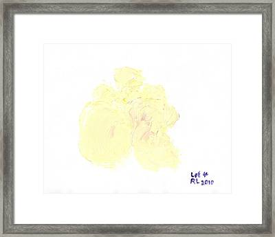 Most Expensive Truffle In The World Lot 4 330000 Honoring Stanley Ho 2 Trifling With Truffles. Framed Print by Richard W Linford