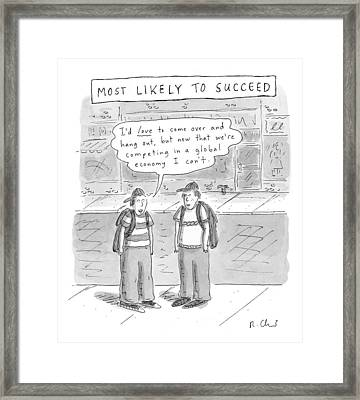 Most Likely To Succeed Framed Print