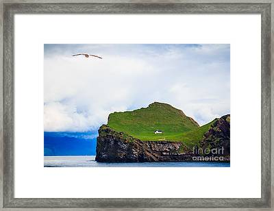 Most Peaceful House In The World Framed Print by Peta Thames