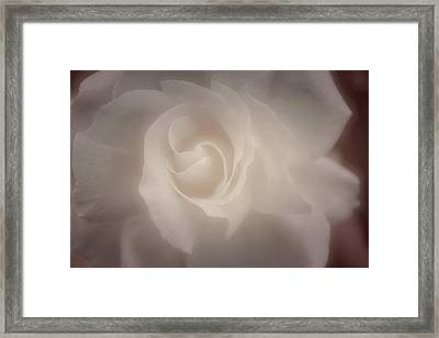 Most Pure Framed Print by The Art Of Marilyn Ridoutt-Greene