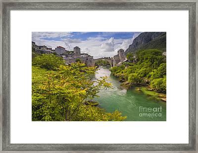 Mostar  Bosna Framed Print by Todor Bozhkov
