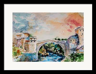 Mostar Framed Prints