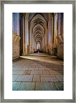 Monastery Da Batalha II Framed Print by David Letts