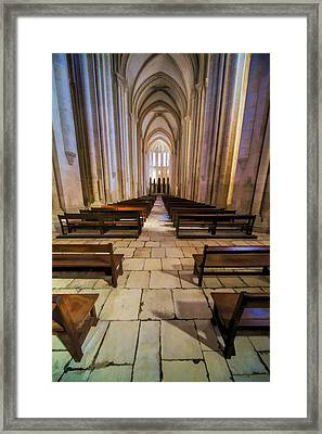 Monastery Da Batalha IIi Framed Print by David Letts