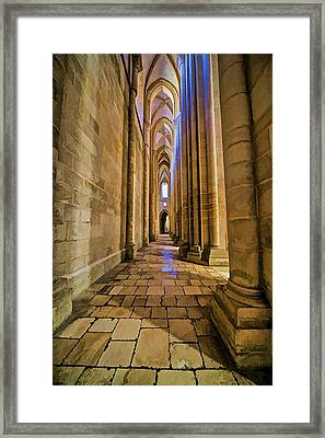 Monastery Da Batalha Iv Framed Print by David Letts