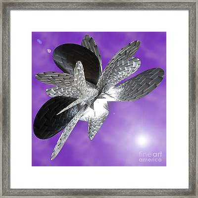 Moth To The Flame Framed Print by First Star Art