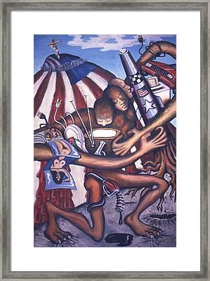 Mother America Framed Print by Dan Ault