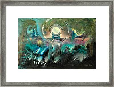 Mother And Child 1995 Framed Print by Glenn Bautista
