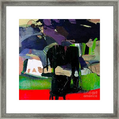Mother And Child Journey Framed Print