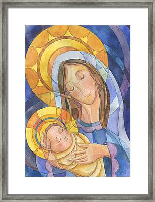 Mother And Child Framed Print by Mark Jennings