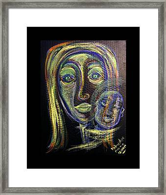 Mother And Child Framed Print by Mimulux patricia no No