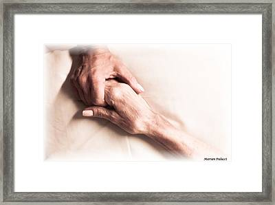 Mother And Daughter 2 Framed Print