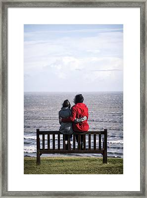 Mother And Daughter Framed Print by Joana Kruse