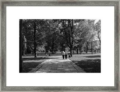 Mother And Her Mother Framed Print by Tgchan