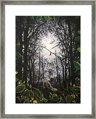 Mother And Son Framed Print by Pheonix Creations