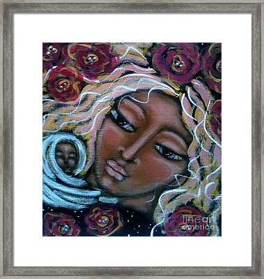 Mother Divine Framed Print by Maya Telford