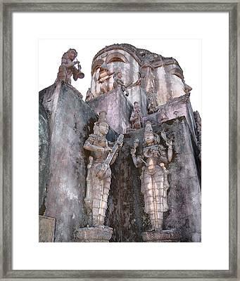 Mother Divine Temple - Amarkantak India Framed Print by Kim Bemis