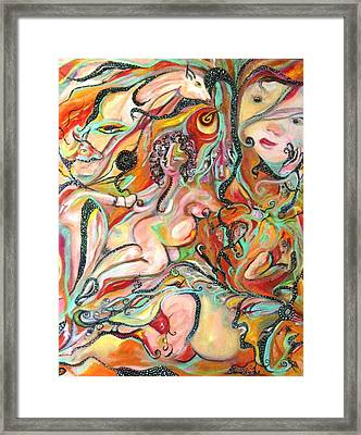 Mother Framed Print by Donna Busch