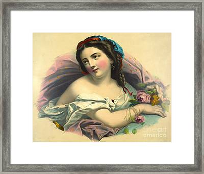 Mother Earth 1850 Framed Print by Padre Art