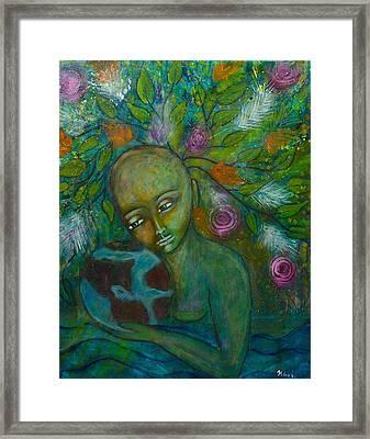 Mother Earth Framed Print by Havi Mandell