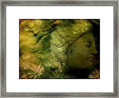 Mother Earth Is Just Awakening Framed Print by Gun Legler
