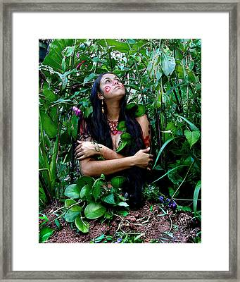 Mother Earth Framed Print by Koa Feliciano