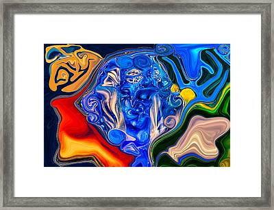Mother Earth Framed Print by Omaste Witkowski