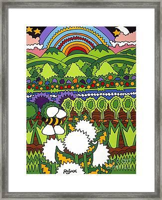 Mother Earth Framed Print by Rojax Art