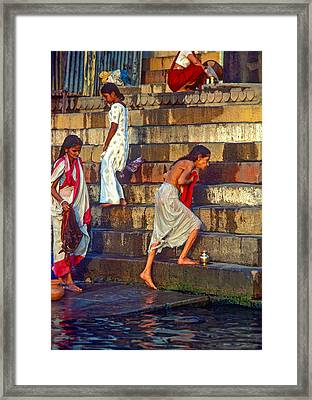 Mother Ganges Framed Print by Steve Harrington