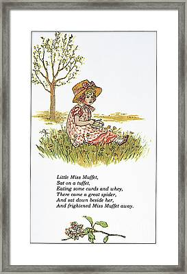 Mother Goose, 1881 Framed Print by Granger